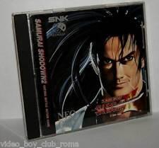 SAMURAI SHODOW II  GIOCO USATO BUONO SNEO GEO CD EDIZIONE EUROPEA FS1 36505