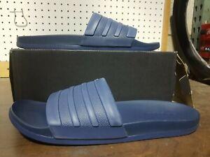 Adidas Adilette Comfort Slides Blue Mens US Size 13 TP53