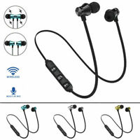 Wireless Bluetooth 4.2 Magnetic Sport In-Ear Earphone Headset Stereo Headphones