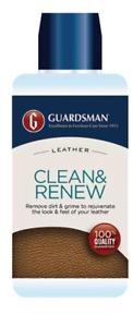 Guardsman Leather Clean & Renew Bottle 250ml leather cleaner