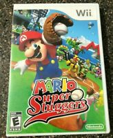 Mario Super Sluggers (Nintendo Wii Game) Clean & Tested Working - Free Ship
