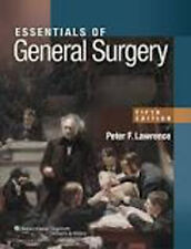 Essentials of General Surgery 5e, New, Lawrence Book