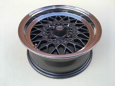 BBS MAHLE 6x14 4x100 alloy wheels BMW E21 E30 1600 2002 Turbo flared body Tii Ti