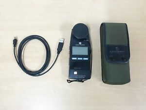 Konica Minolta CL-200A CL200A Chroma Meter with USB Cable & Case