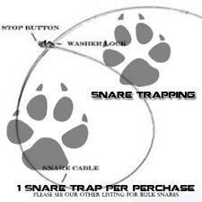 SNARE TRAP 3/32 - BEAVER COYOTE FOX HOG TRAPPING TRAP Survival USA