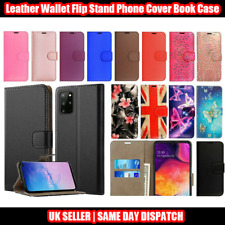 Samsung S9 S9+ S10 S10+ S10 5G Leather Wallet Flip Stand Phone Cover Book Case
