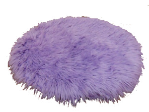 """FAUX FUR SHAGGY FUZZY ROUND 36"""" KITCHEN,BEDROOM,BABY PHOTOGRAPHY HOME DECOR RUG"""