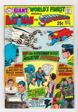 WORLDS FINEST 188 (VF/NM) GIANT G-64 THE SUPER- RIVALS  (FREE SHIPPING) *