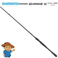 Shimano POISON GLORIOUS XC 173MH-G Medium Heavy bass fishing baitcasting rod