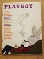 Playboy October 1960  * Free Shipping USA * Very Good Condition