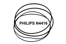 SET BELTS PHILIPS N4416 REEL TO REEL EXTRA STRONG NEW FACTORY FRESH N 4416