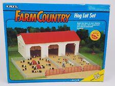 1/64 Ertl Farm Country Hog Lot set New