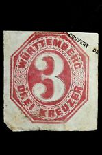 Germany Wurttemberg Amazingly Creative Postal Cover  FORGERY-COUNTERFEIT