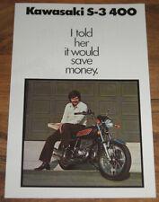 Poster Pilote Moto #PM530 Coupe KAWASAKI Vainqueur 1974 BERNARD SAILLER 400 S3