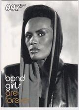 JAMES BOND DANGEROUS LIAISONS BOND GIRLS ARE FOREVER INSERT BG42 GRACE JONES