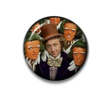 Willy Wonka Oompa Loompa Button Badge - 2.5cm 1 inch NEW Costume Fancy Dress