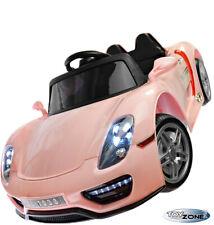 Kinder Elektro Pink Lady Auto 12VKinderauto Kinderfahrzeug MP3 USB Ledersitz EVA