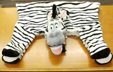 "Zebra Accent Rug Madagascar Child's Room Play Room 47"" x 28"" Chris Rock"
