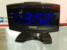 Sharp SPC106X LED Alarm Clock (Black)