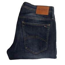 Mens TOMMY HILFIGER Lombard Comfort Jeans W32 L30 Blue Original Skinny Fit