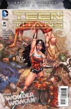 DC comic book Teen Titans # 18 Wonder Woman 2016