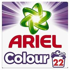 Ariel Colour Biological Washing Laundry Detergent Cleaning Powder - 22 Washes