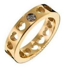 Anello  Morellato Collez. Love OR08 - Acciaio dorato - Diamante List. €.84,00