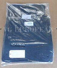 Lexus Genuine LS430 Carpet Floor Mat Set Black 2004-2006 NEW