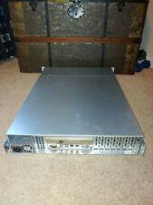 Supermicro 2U X9DR3/i-F, 2x 8-Core E5-2690v1 @ 2.9GHz, 32GB ECC RAM, Single PSU