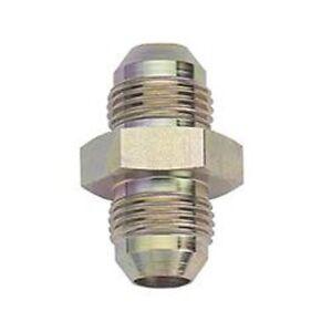 AN Coupler Union Straight -10 AN Male -10 AN Male Zinc Steel Fragola 581510