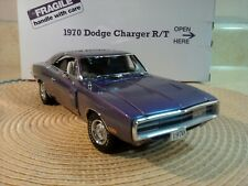 DANBURY MINT 1970 DODGE CHARGER RT..1:24..RARE COLOR..NOS. DOCS..UNDISPLAYED NEW