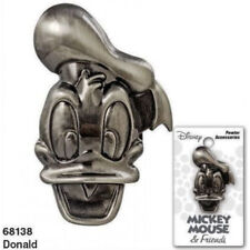 Walt Disney Donald Duck 3D Face and Head Deluxe Metal Pewter Pin NEW UNUSED