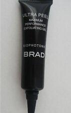 BRAD Biophotonic Skin Care ULTRA PEEL Max Performance Exfoliating Gel .25 oz NEW