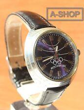 POLJOT Olympic Games  USSR vintage men's mechanical wristwatch