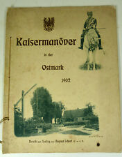 Kaisermanöver in der Ostmark 1902