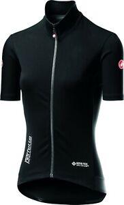 Castelli Women's Perfetto RoS Light (Gabba) Short Sleeve Jacket Black Size Small