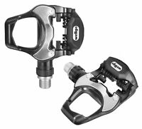 """Wellgo Bike Aluminum 9/16"""" Road  Bicycle Clipless Pedals & Look KEO Cleats Set"""