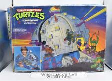 Technodrome Complete W Box 1990 TMNT Teenage Mutant Ninja Turtles Playmates