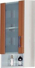 Bad Hängeschrank Badschrank Wandschrank 1-trg Weiß Ahorn B116