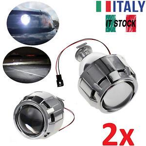 HID 2.5 Mini RHD H1 H7 H4 Bi-Xenon Proiettore SUDARIO Kit Lente Faro Auto-2Pezzi
