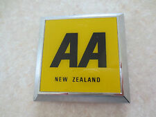 Vintage NZ AA car badge for Austin Morris MG Jaguar Rover Wolseley Ford Mini