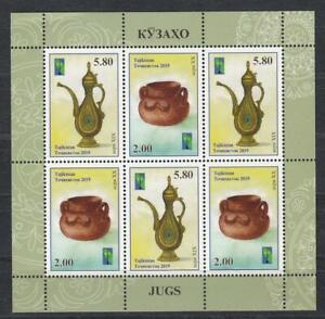 Tajikistan 2019 MNH** Mi.843-44 A KB RSS Craft