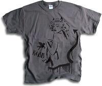 Madonna London Street Art Pegasus Graffiti Mens T Shirt Sm - 2XL