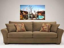 """SALVADOR DALI MOSAIC 35BY25"""" WALL POSTER REFLECTION"""