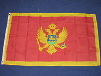 3X5 MONTENEGRO FLAG NATIONAL COUNTRY BANNER NEW F700