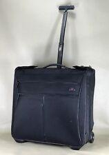 "Victorinox Werks Traveler Black 21"" Wheeled Garment Bag Rolling Luggage 30081"