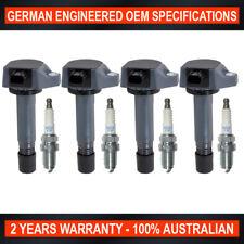 Set 4 Ignition Coil & NGK Iridium Spark Plugs for Honda Civic 1.8L R18A