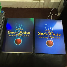 Snow White and the Seven Dwarfs Blu-ray Steelbook case | Disney | no disc