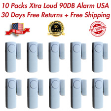 10 PK Wireless Home Window Door Burglar Security Alarm System Magnetic Sensor