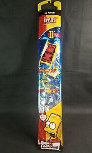 "The Simpsons 22"" 2004 Kite NEW SkySled Bart Hero Bartsk8 Rare Graphics Sealed"